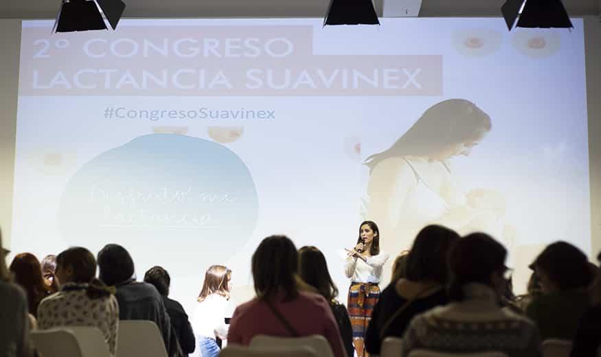 joanna saldon presenta ii congreso de lactancia suavinex