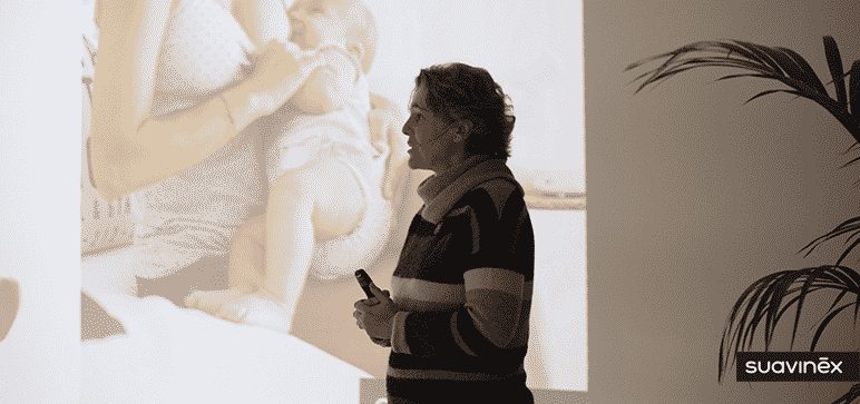 María Berrozpe ponencia lactancia y sueño del bebé
