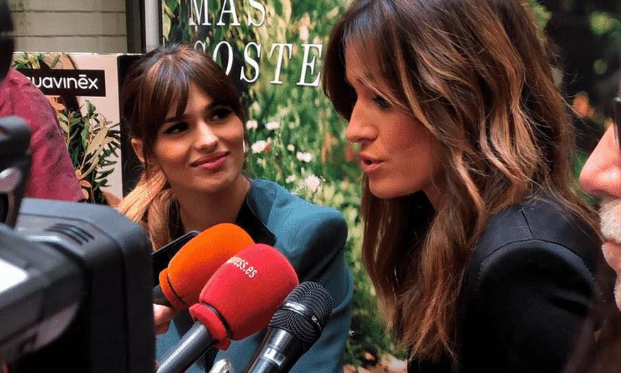 Sara Sálamo e Isabel Jiménez presenta la nueva línea cosmética de Suavinex