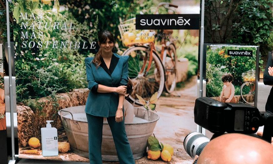 Sara Sálamo presenta la nueva línea cosmética de Suavinex