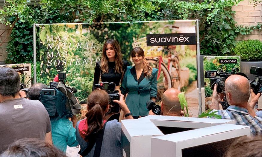 Sara Salamo e Isabel Jiménez presentan la nueva línea cosmética de Suavinex