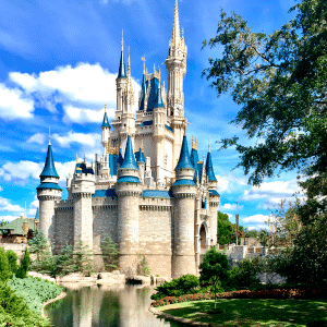 DisneyWorld castillo Cenicienta