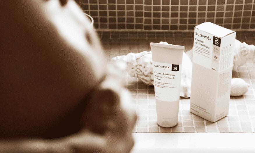 cuidado piel embarazo crema reafirmante y antiestrías Suavinex
