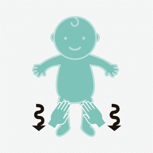 masaje infantil balanceo