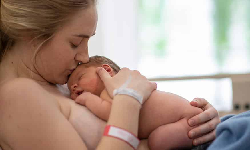 El expulsivo, una de las etapas del parto