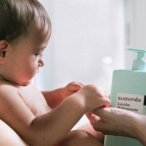 piel atópica del bebé