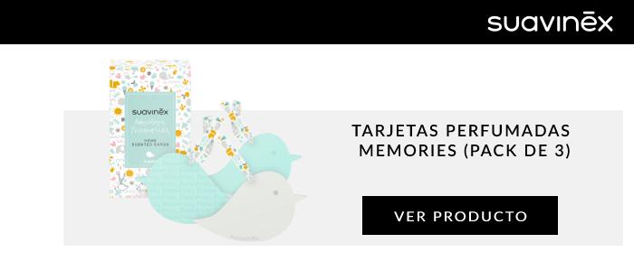 tarjetas perfumadas memories pack de 3
