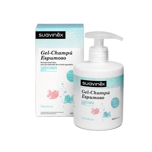 Gel-champú esmuposo 400ml